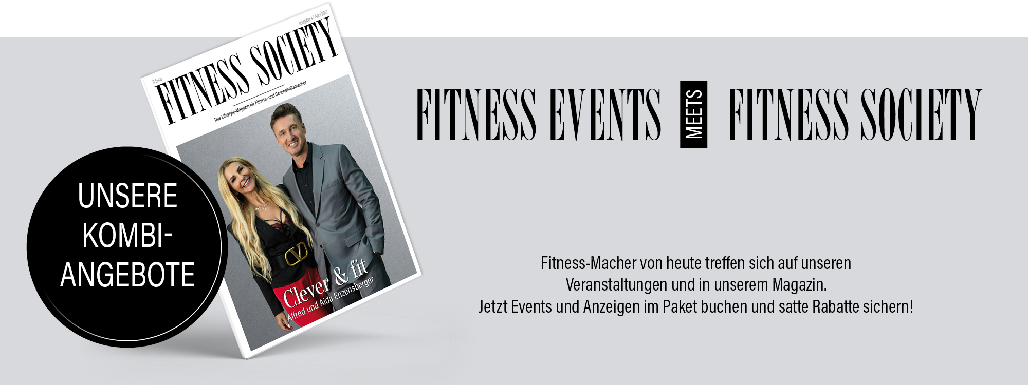 Fitness events meets fitness society